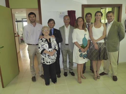 Josep Claverol, Pepita Figueroa, Vicenç Thomàs, Tomás Alías, Eva Munar, Antonio Real, Olga Velasco y Josep Moyá.
