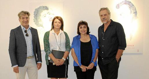 Rafael Caballero, Lucía Martín, Maribel Morueco y Jaume Salvadiego