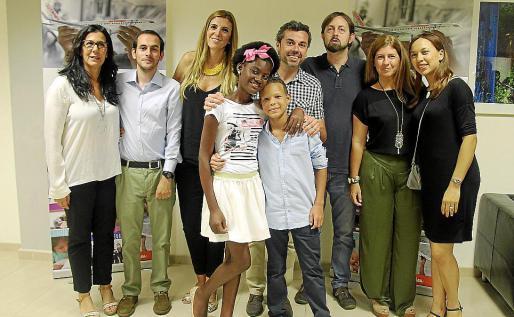 Marta Andreu, Pelayo Álvarez, Isabel Ximelis, Erika Nicole, Iñaki Luis, Cristian Sánchez, Juan Aballe, Marta Ríos y Ana Morillo.