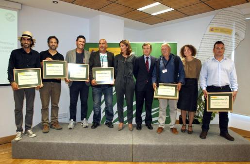 Momento de la entrega de la IV edición de los Premios Chiringuitos Responsables.
