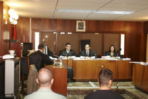 Imagen de archivo de un juicio celebrado en la Audiencia Provincial.