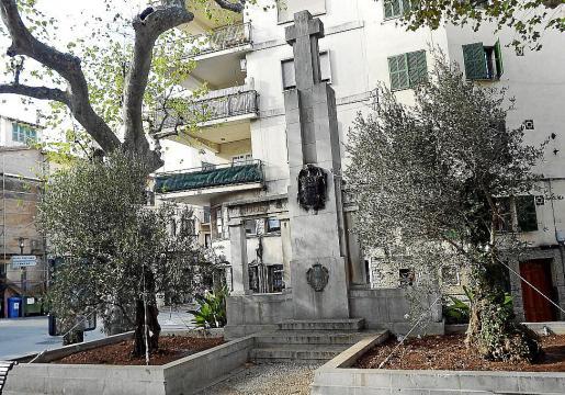 Estado actual del monumento.