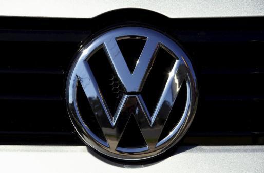 El logotipo de Volkswagen.