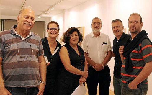 Sebastià Martí, Antònia Iturbide, Joana Castells, Gerardo Bex, Miquel Seguer y Pedro Iturbide.