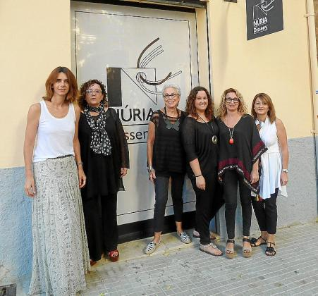 Nuria Bosch, Yolanda Camand, Catalina Pujol, Marina Blasco, Nuria Torres e Isabel Suau.