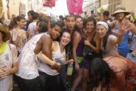 Alegría y risas en la Festa de ses Clovelles de Petra