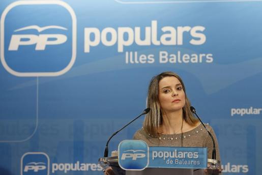Margalida Prohens, portavoz del Grupo Popular.