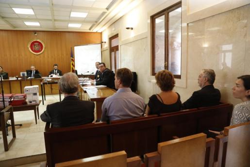 Juicio por el caso Relámpago en la Audiencia de Palma.
