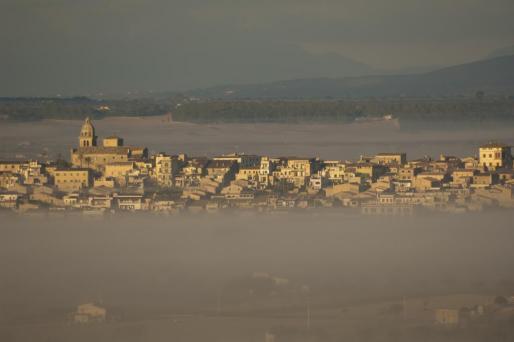 Vista general del municipio de Montuïri.