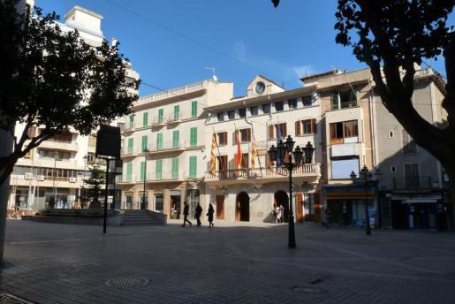 Fachada del Ajuntament de Inca.