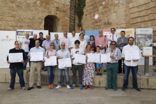 Ganadores y jurado del concurso TaPalma.