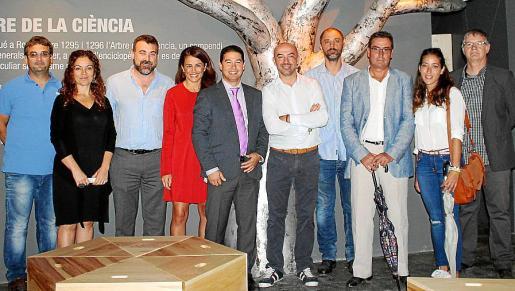 Martí Bassa, Antonia Reig, José Calatayud, Ana Rodríguez, José Capote, Gaspar Ivars, Rodo Rodríguez, Bartomeu Bennássar, Loida Merino y Toni Gómez.