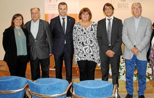 Mercedes Garrido, Alfonso Ruiz Abellán, José Javier Bonet, Chelo Huertas, Iago Negueruela y Antoni Comas.