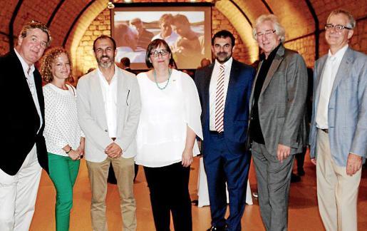 Arno Menser, Alexandra Wilms, Biel Barceló, Sabine Lammers, Carlos Anglada, Bernd Jogalla y Christian Neukom.