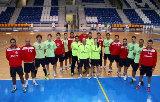 El Palma Futsal este viernes en Son Moix.