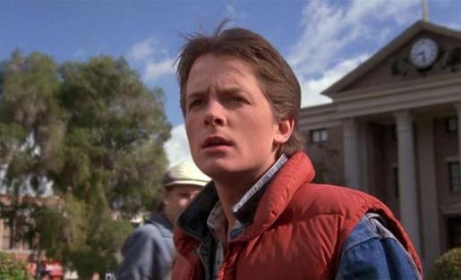 Michael J. Fox, en una escena de la película.