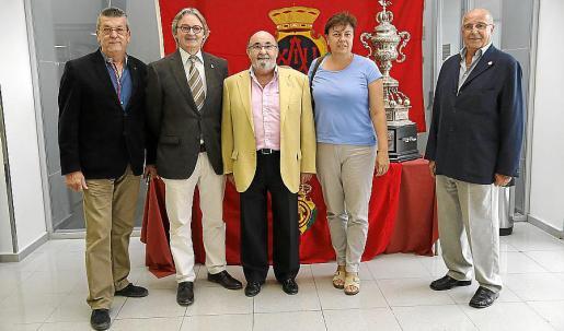 Antonio Oliver, Monty Galmés, Paco Llabrés, Susanna Moll y José Ginard.