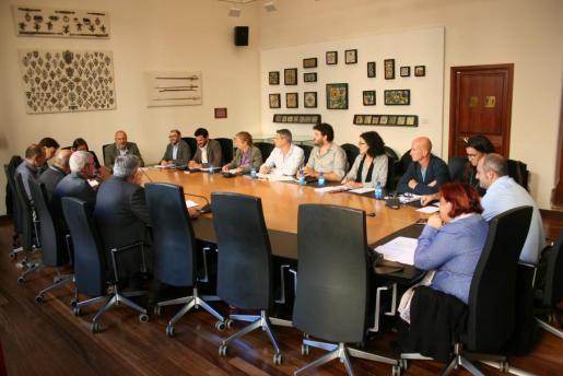 Imagen de la nueva junta rectora del Consorci Serra de Tramuntana.