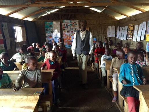 Desde el inicio del proyecto el año 2011 han construido dos centros de infantil.