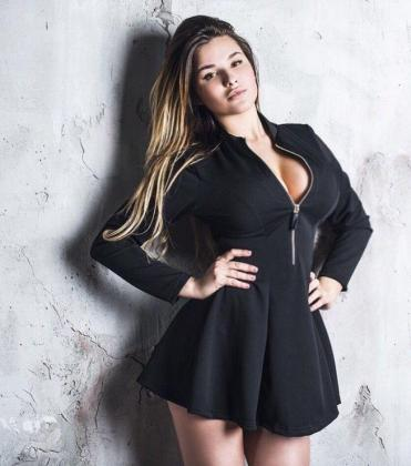 La modelo rusa Anastasya Kvitko se está convirtiendo en tota una celebrity en Isntagram, haciendo sombra hasta a la mismísima Kim Kardashian.