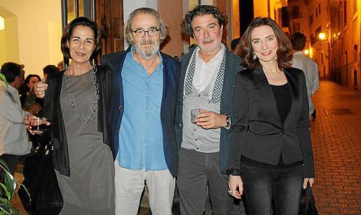 Ana Bosch, Ramon Canet, Esteban Matera y Lourdes Ferriol.