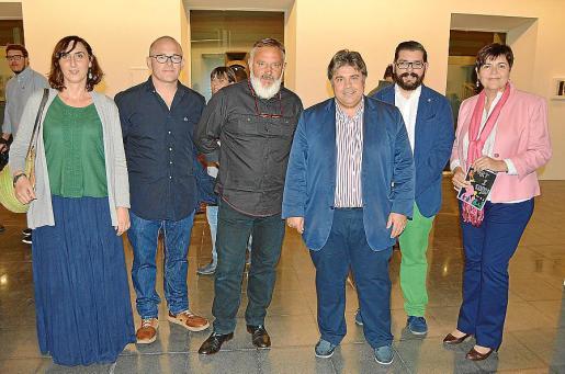 Maria Antònia Crespí, Llorenç Gelabert, Vicenç Ochoa, Biel Ferragut, Rafel Socias y Aina Aguiló.