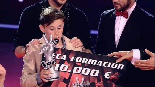 José María, tras vencer.