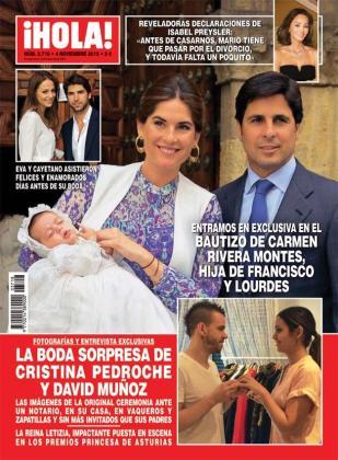 En la parte inferior de la revista, se puede ver el enlace de Pedroche y Muñoz.