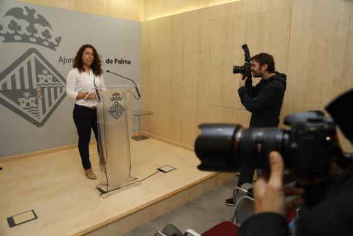 Angelica Pastor, regidora de Seguridad Ciudadana, en una imagen de archivo.