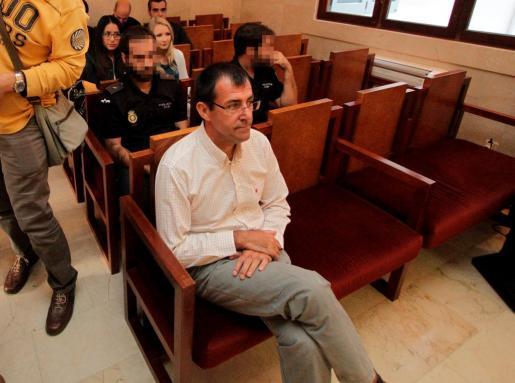 Miquel Nadal durante una sesión del juicio por el caso Voltor.