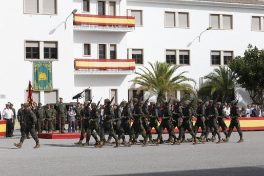 El relevo de las tropas se iniciará a partir del día tres del mes próximo.