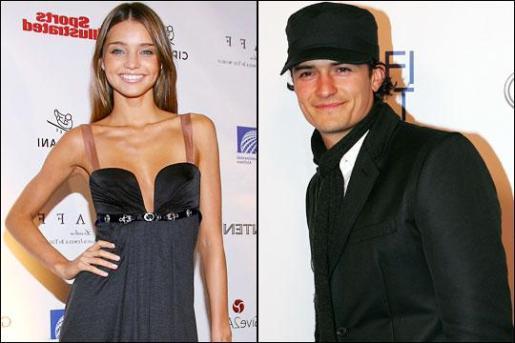 La modelo Miranda Kerr y el actor Orlando Bloom se han casado.