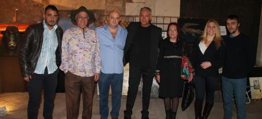 Alejandro Grimaldi, José Carrillo, Emilio Arnao, Pascual de Cabo, Rosario Moreno, Lucilia Moreno y Juan Vives.