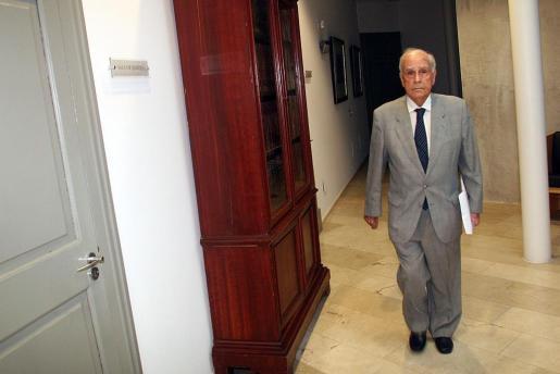 Miquel Coll, expresidente del Consell Consultiu.