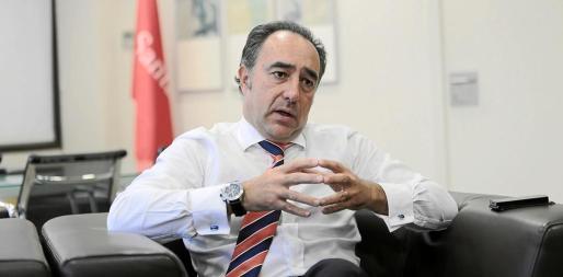 Ignacio Alcaraz es contrario a la implantación del impuesto turístico.