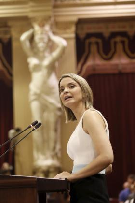 La portavoz parlamentaria del PP, Margalida Prohens.