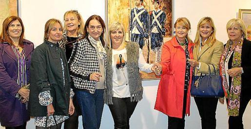 Lola Durán, Sandra Horrach, Águeda Ropero, Amalia Estabén, Cati Gelabert Niell, Antonia Sánchez, Antonia Nadal y Carmen Carreras.