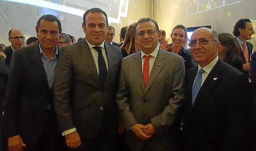José María Dalmau, Gabriel Escarrer, Alfonso Rodríguez y José Antonio García Moles.