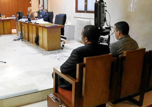 Los dos acusados fueron juzgados en la Audiencia Provincial.