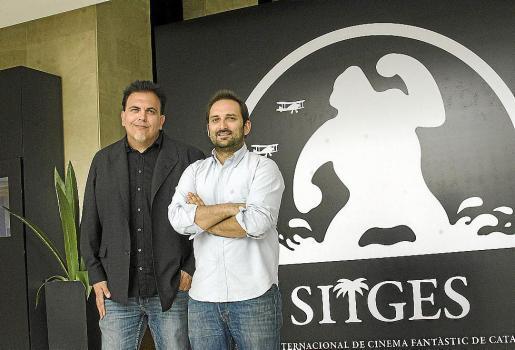 Toni Bestard y Marcos Cabotà en el festival de Sitges.