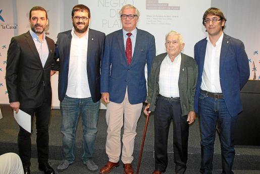 Jaume Anglada, Vicenç Vidal, Josep Lluís Roses, Martí Vich y Iago Negueruela.