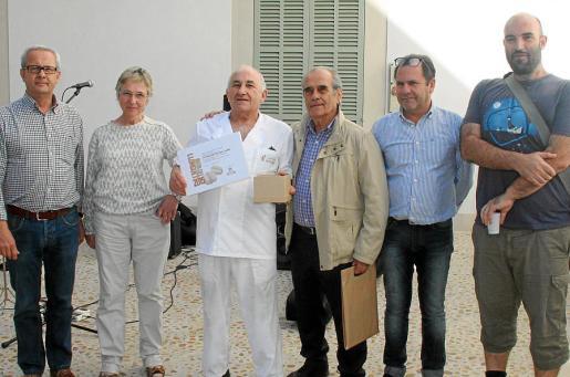 Pep Magraner, Joana Maria Palou, Lluís Brunet, Onofre Fleixas, Josep Mallol y Josep Joan.