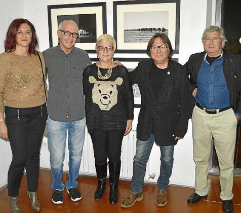 Cati Vallés, Carles Fabregat, Magdalena Moyà, Joaquim Seguí y Joan Ramon Bonet.