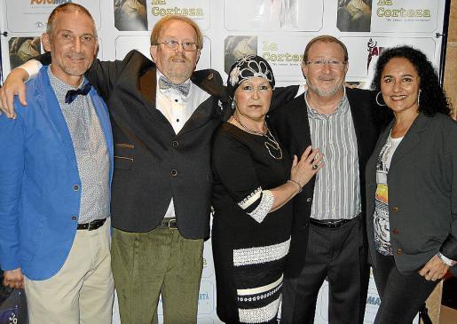Miquel Mestre, Juan Andrés Mateos, Rosario Carmona, Colau Cortès y Susana Vega.