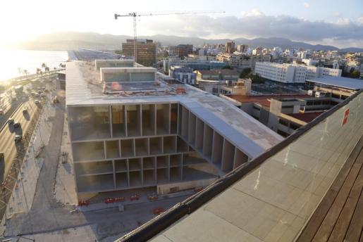Imagen del Palacio de Congresos.