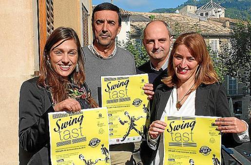 El alcalde y el concejal de Turismo, Jaume Servera y Jaume Mateu, presentaron el evento junto a las directoras insulares de Economia y de Hacienda, Paula Ginard y Cristina Ballester.
