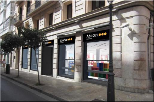 La entrada a Abacus.