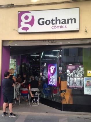 Gotham Còmics está en la calle Sant Miquel de Palma.