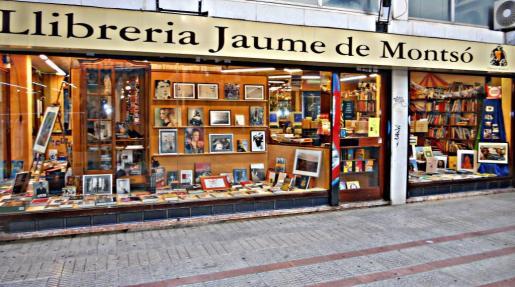 La librería Jaume de Montsó está en el centro de Palma.