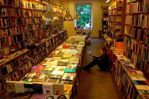 La librería Literanta se encuentra en el centro de Palma.